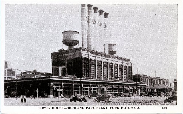 Powerhouse of the Highland Park Ford Plant, 1920s - 1945.101.001