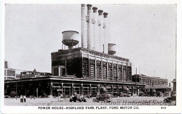 Highland Park Ford Plant Detroit Historical Society