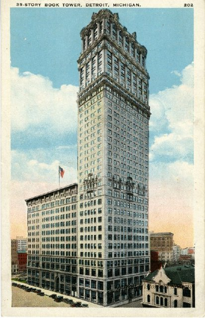 Book Tower postcard c.1926