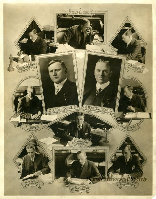 Dodge, Horace E.   Detroit Historical Society