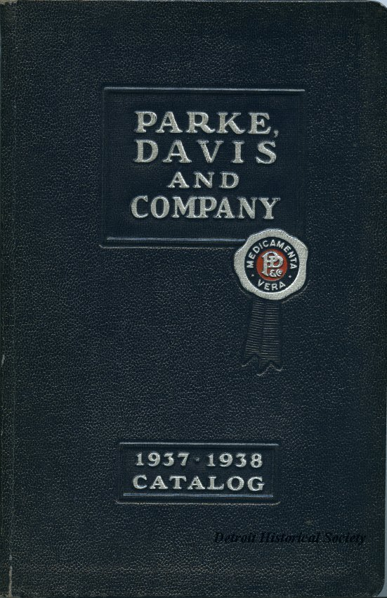 Parke, Davis and Company 1937-1938 Catalog, 1937 – 1970.078.016