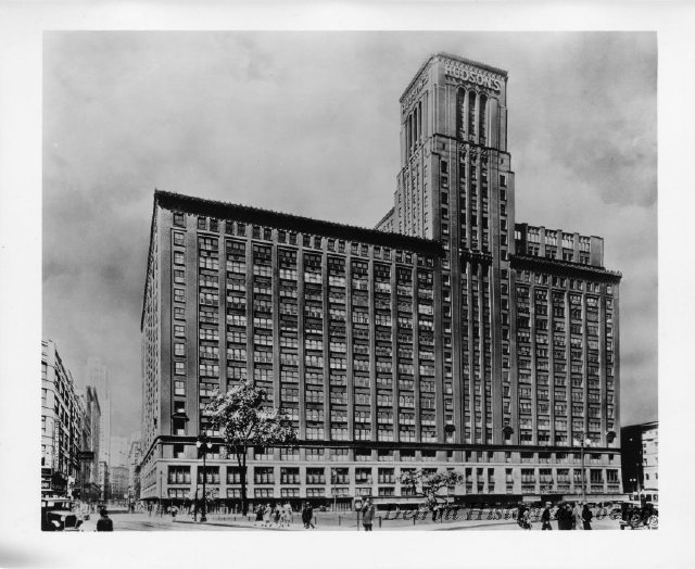 Hudson's Department Store etching, 1920s - 1982.144.204