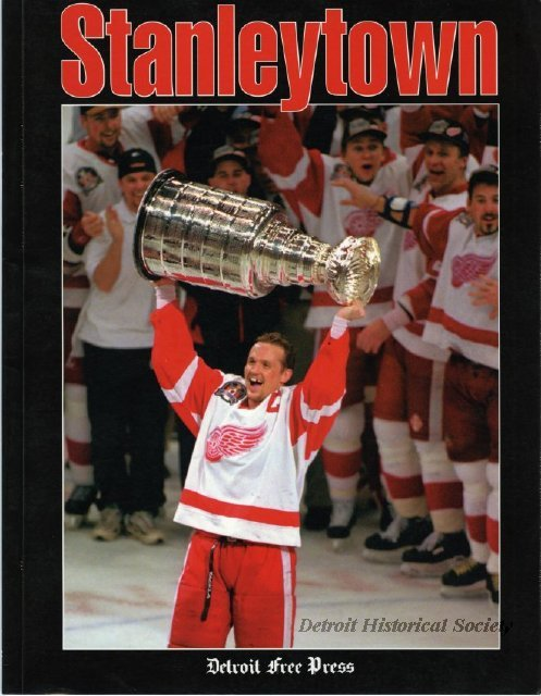 Commemorative booklet published by Detroit Free Press for 1997 Stanley Cup