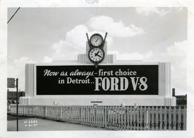 Ford motor company detroit historical society for Ford motor company detroit mi