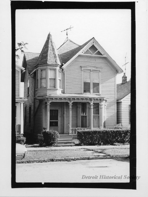 Photograph of Corktown home, 1976