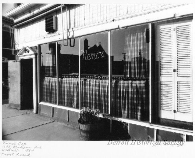 Photograph of Nemo's in Corktown, 1984