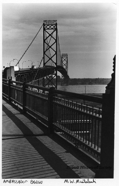 Ambassador Bridge, c. 1972