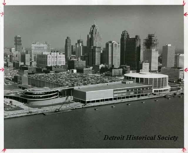 Photograph of Cobo Hall, 1962