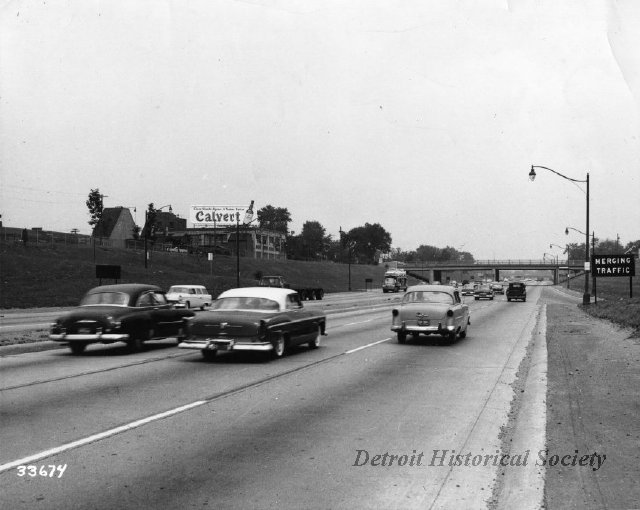 Photo of the Edsel Ford Freeway