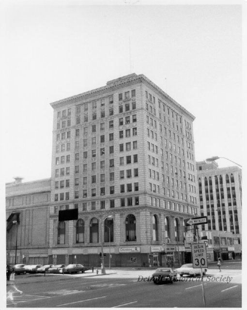 Palms Building and Theatre exterior, 1975