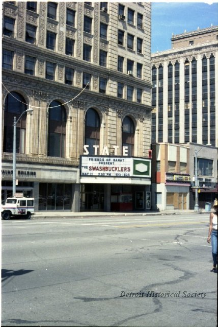Exterior of the Fillmore (State) Theatre, 1985