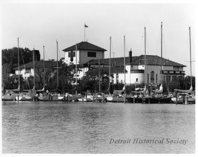 Photo of the Detroit Yacht Club, 1973