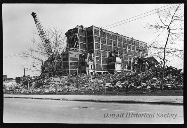 Destruction of the Dodge Main Plant in Hamtramck, 1981
