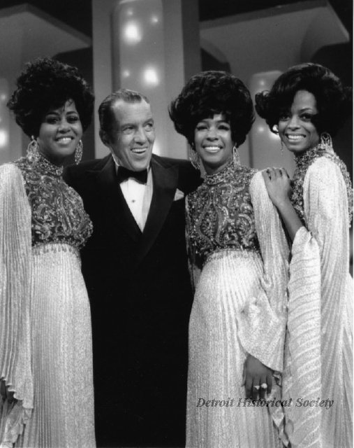 Diana Ross and The Supremes with Ed Sullivan, 1968 - 2011.005.005