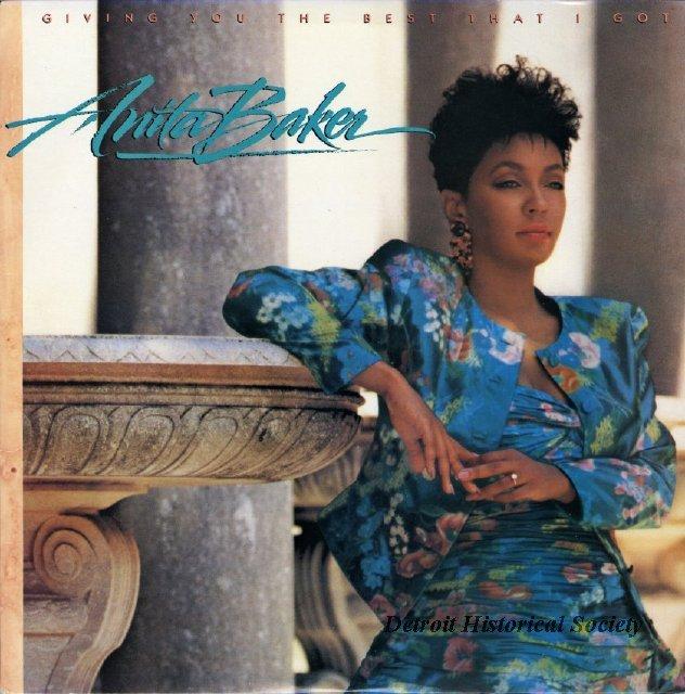 Baker anita detroit historical society for House music 1988
