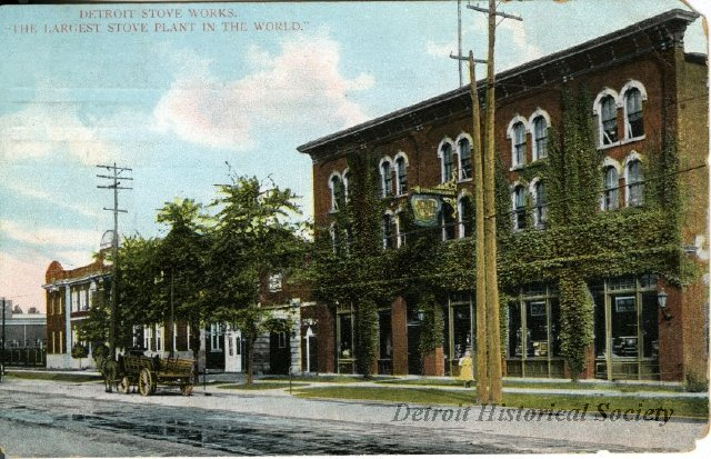 Detroit Stove Works postcard