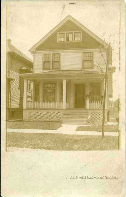 Photo of a home in Hubbard Farms, 1910 - 2012.020.499