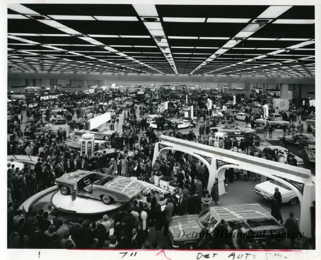 North American International Auto Show in Cobo Hall, 1960s - 2012.022.026