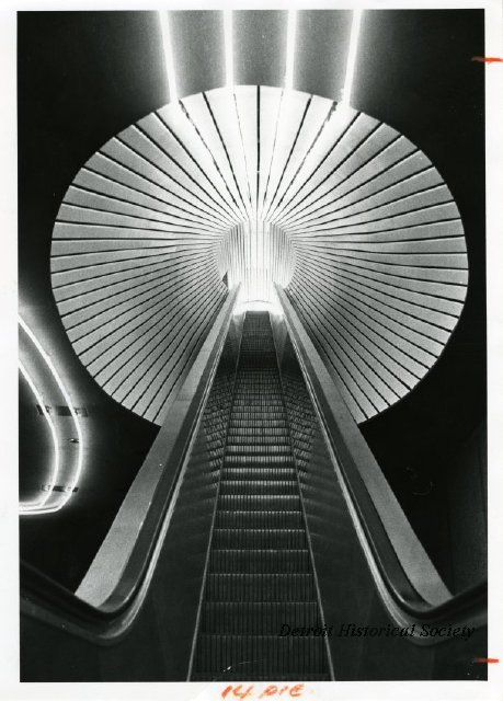 Escalator in the Detroit Science Center