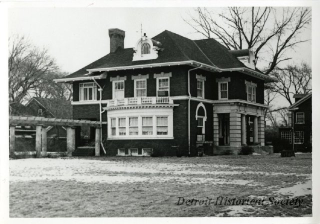 Henry Ford's Boston-Edison home, 1971