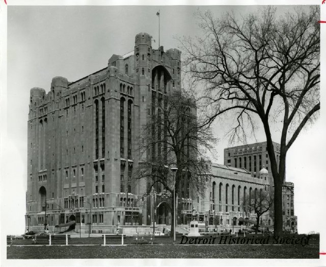 Photo of the Masonic Temple, 1975 - 2012.032.030