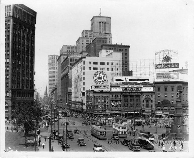 Campus Martius Photograph, 1928