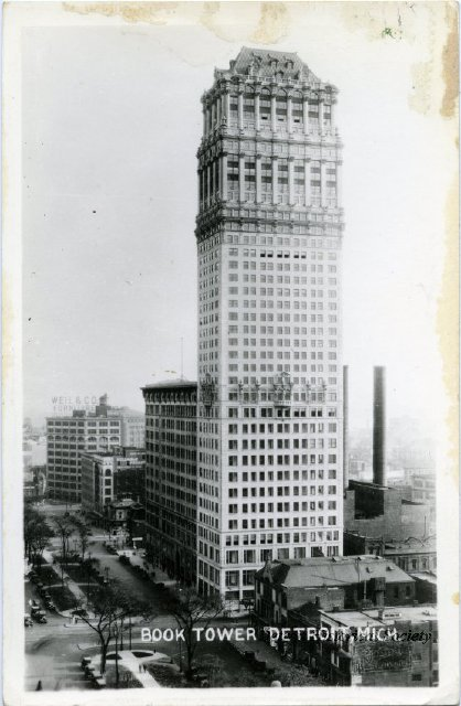 Book Tower postcard c.1920