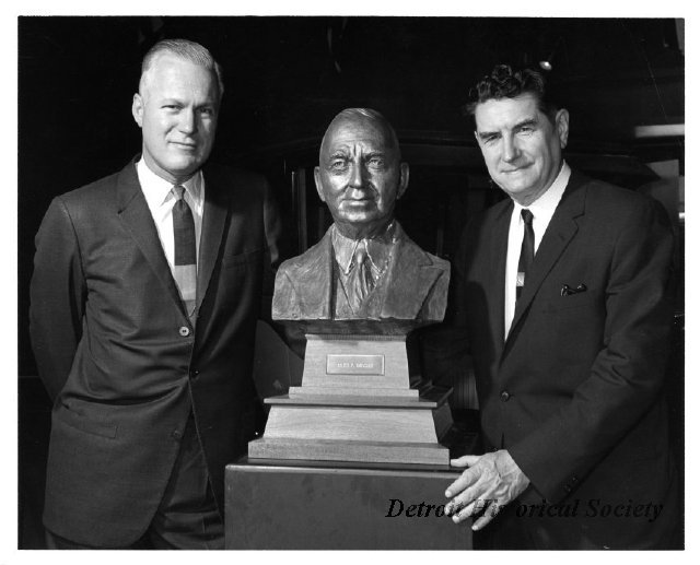 Photograph of Chrysler Bust, 1965