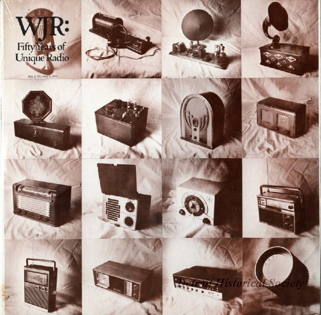 WJR recordings record celebrating the 50th anniversary, 1972 - 2013.040.378