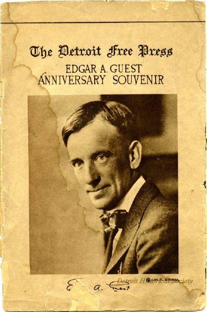 Edgar Guest detroit