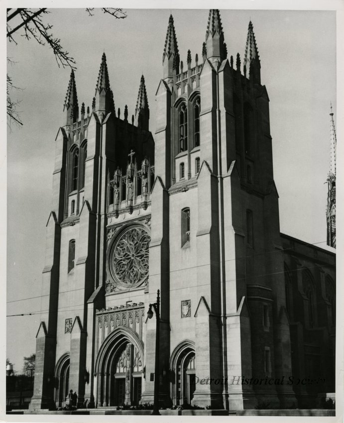Cathedral of the Most Blessed Sacrament, c.1955 – 2014.003.217