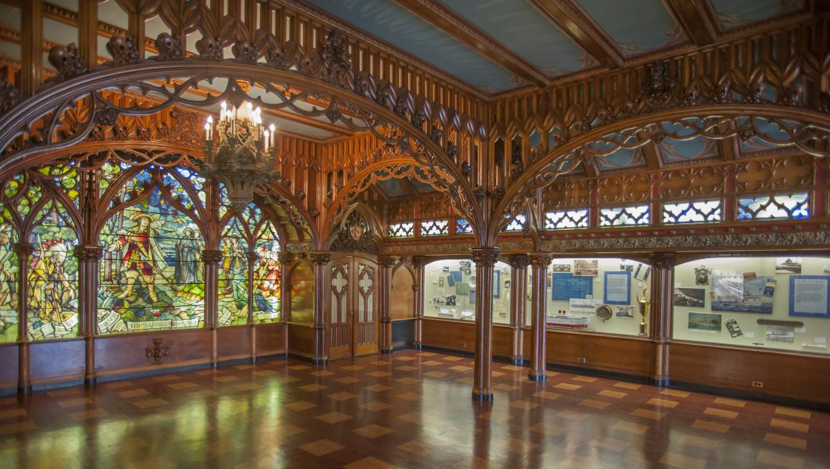 Gothic Room Detroit Historical Society