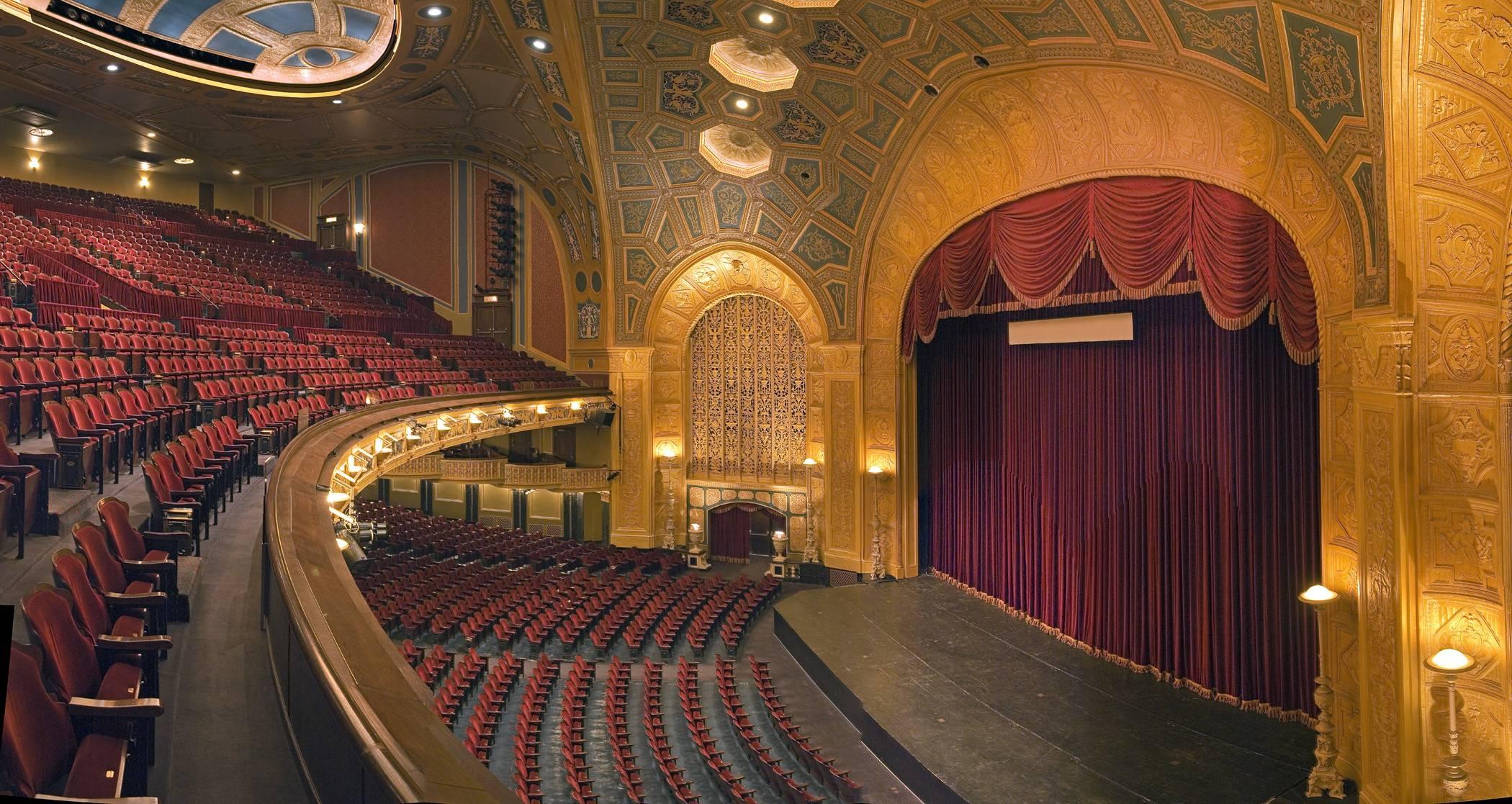 Detroit Opera House Visual Tour