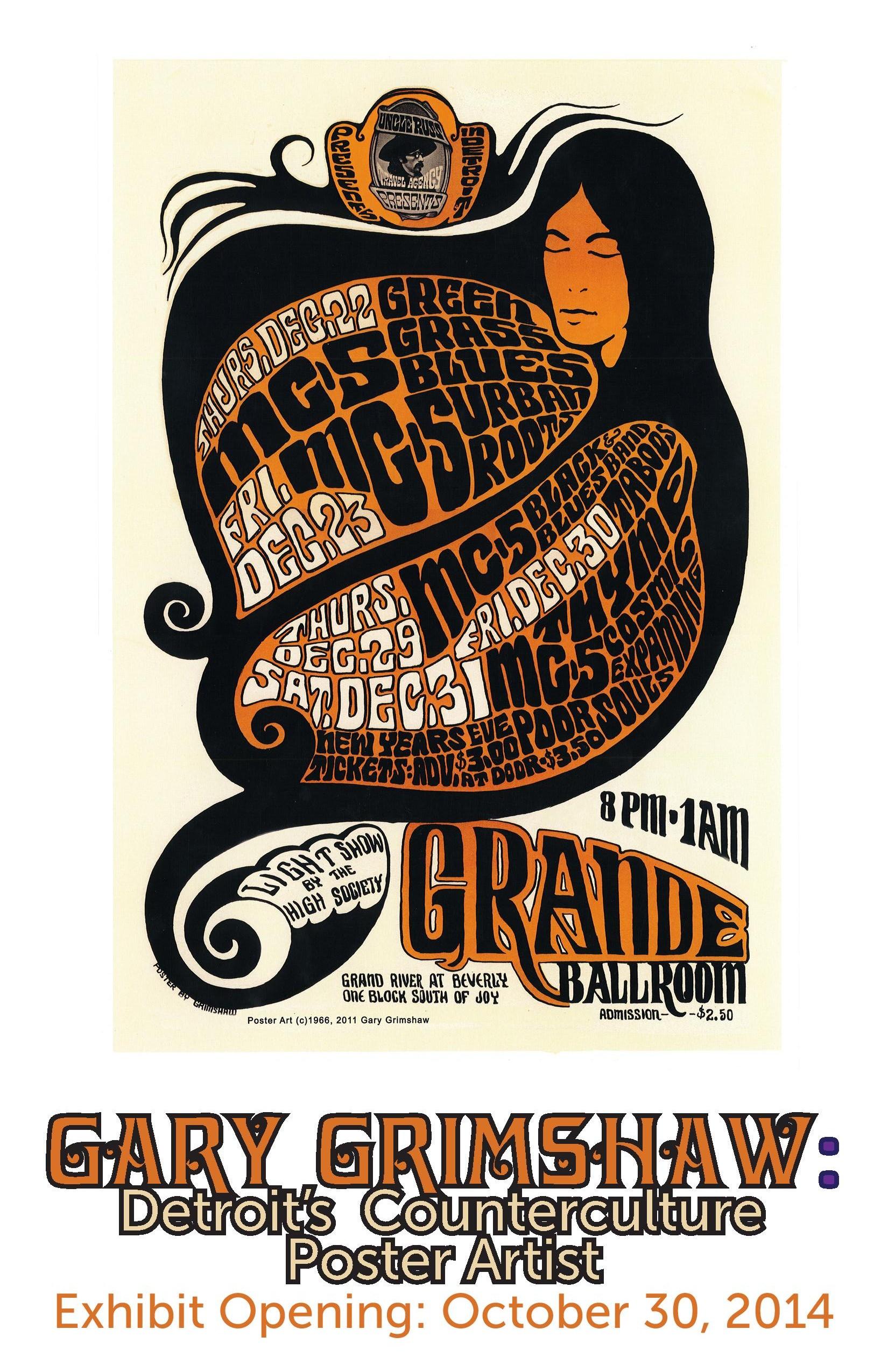 gary grimshaw detroits counterculture poster artist