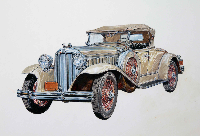 1931 Chrysler Model 70 Roadster